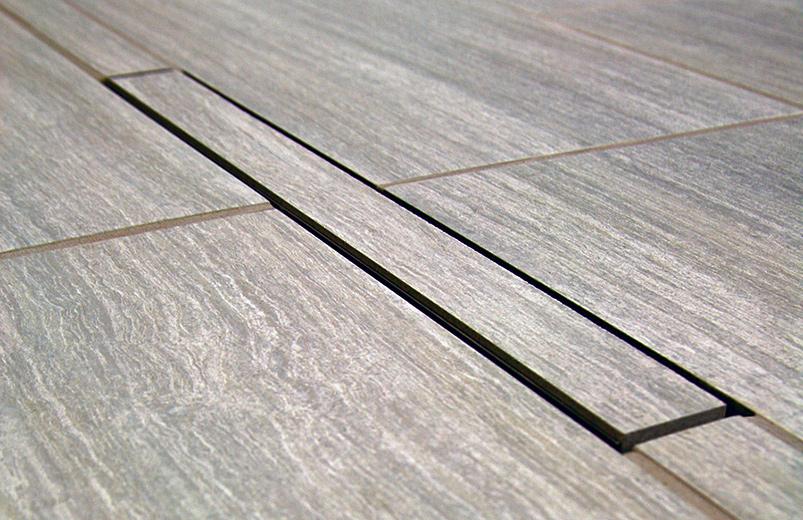 Bronte™ Linear Shower Drain ADA Installation U2013 Tile Top