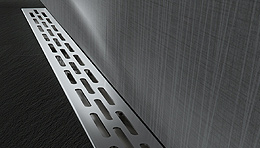 linear drains, linear bases, linear grates, shower elements, shower curbs, shower niches, shower benches, curb overlays, solid curbs, membranes, waterproofing membranes, ProBase, PRO-SLOPE, adhesives