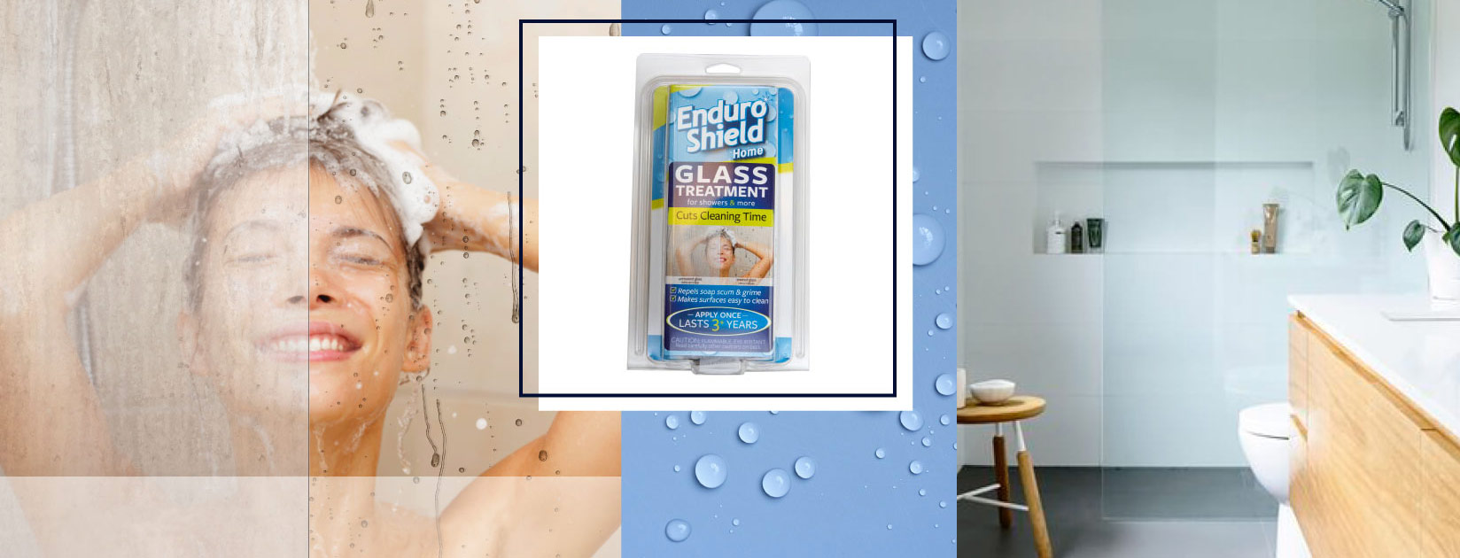 EnduroShield Shower Glass, Tile and Grout Treatment