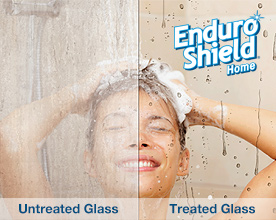 EnduroShield, glass treatment, stainless steel treatment, tile & grout treatment
