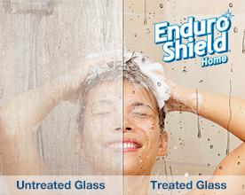 EnduroShield, glass treatment, stainless steel treatment, tile & grout treatment